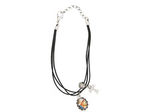 black cord w/pendants