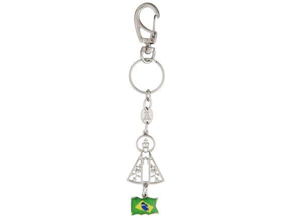 brasil keyring