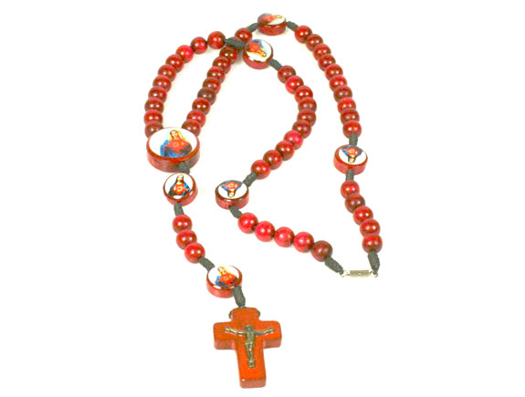red mary / jesus sacred heart